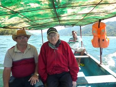 Boat trip on Hanabanilla